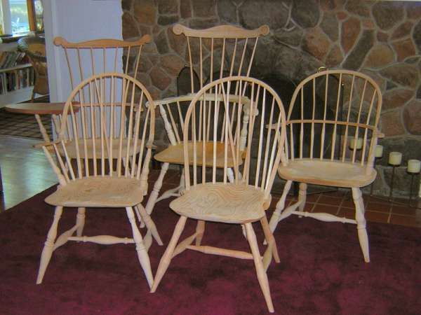 Windsor Chair Options And Turning Options